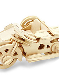 cheap -Toy Cars 3D Puzzles Jigsaw Puzzle Wood Model Dinosaur Tank Plane / Aircraft Motorcycle 3D Animals DIY Wood Classic Unisex Gift