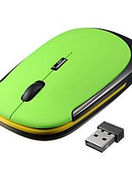 Mouse del taccuino senza fili 2.4g del regalo dell'ufficio