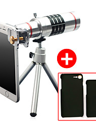 cheap -Lingwei 18X Zoom iphone Camera Telephoto Lens Wide Angle Lens / Tripod / Phone Holder / Hard Case / Bag / Cleaning Cloth (iphone 6/6 plus)