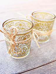 cheap -Glass Tealight Candle Holder or Whisky Cup\ Wedding Favors Beautiful