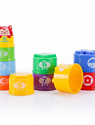cheap -Stacking Games Toys Music & Light Plastics Children's Pieces