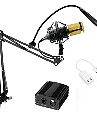 cheap -Professional Condenser Microphon BM 800  Pro Audio Studio Vocal Recording With Metal Shock Mount And Pop Filter