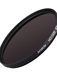 Andoer 67mm ND1000 10 Stop Fader Neutral Density Filter for Nikon Canon DSLR Camera