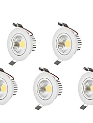 cheap -6W LED Downlights Warm White Cool White LED  AC 100-240V 5 pcs