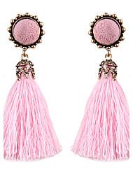 abordables -Mujer Pendientes colgantes Moda estilo de Bohemia Euramerican joyería de disfraz Legierung Forma Redonda Joyas Para Fiesta Diario