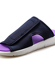 cheap -Men's Shoes PU Spring / Summer Comfort Slippers & Flip-Flops White / Black / Purple
