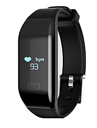 HHY New H3 D Smart Bracelet Waterproof Bluetooth Sports Pedometer Sleep Heart Rate Monitor Calls To Remind Wechat Share Android IOS Bracelet Gift