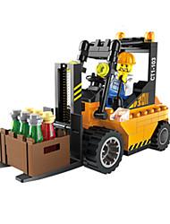 economico -Macchinine giocattolo Costruzioni Carrello elevatore Giocattoli Quadrato Carrello elevatore Unisex Pezzi