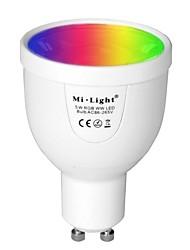 abordables -BRELONG® 1pc 5 W 500 lm GU10 Ampoules LED Intelligentes A60(A19) 12 Perles LED SMD 5730 Capteur infrarouge / Intensité Réglable / Commandée à Distance Blanc Chaud / RVB 85-265 V / 1 pièce