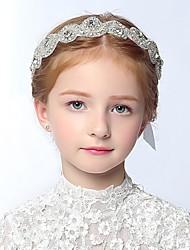 Girl's Headband Cute Lace And Rhinestone Baby Hair Accessory