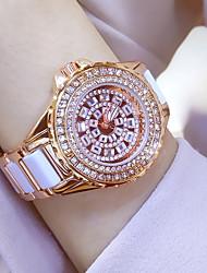 cheap -Women's Dress Watch Fashion Watch Wrist watch Bracelet Watch Unique Creative Watch Casual Watch Simulated Diamond Watch Pave Watch Chinese