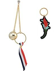 Women's Drop Earrings Basic Unique Design Dangling Style Pendant Tassel Friendship Personalized Elegant Hip-Hop Hypoallergenic Multi-ways