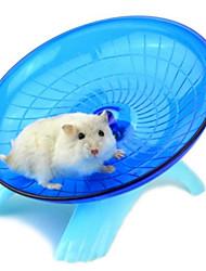 Roedores Hamster Silicone Rodas de Exercícios Azul Rosa claro