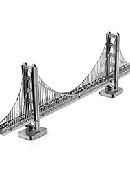 economico -Puzzle Puzzle 3D Modellini di metallo Costruzioni Giocattoli fai da te Novità Alluminio