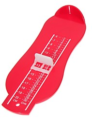 Infant Foot Measure Gauge Adjustable Plastic ABS Kids Children Shoes Size Measuring Ruler Tool Ramdon Color
