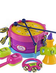 economico -Giocattoli musicali Batteria Accessori per casa bambole Strumenti giocattoli Gioco educativo Giocattoli Batteria Plastica Pezzi Bambino