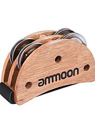Ammole elliptique cajon boîte batterie compagnon accessoire pied jingle tambourin pour main instruments de percussion burlywood