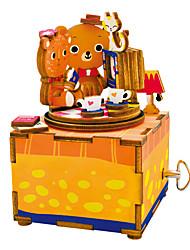 baratos -Quebra-Cabeças de Madeira Desenho Faça Você Mesmo De madeira Composto Crianças Dom