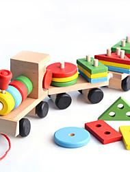 cheap -Toy Cars Building Blocks Train Train Children's Gift