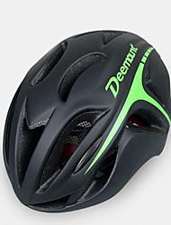 Недорогие -Мужской Велоспорт шлем Вентиляционные клапаны Велоспорт Горные велосипеды Шоссейные велосипеды Велосипедный спорт Стандартный размер
