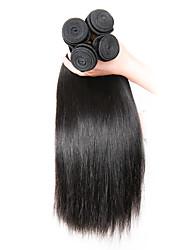 economico -Ciocche a onde capelli veri Indiano dritto 6 mesi 1 pezzo tesse capelli