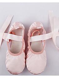 Women's Ballet Silk Flats Practice Blushing Pink