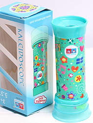 cheap -Kaleidoscope Toys Cylindrical Plastics Pieces Kid Children's Day Birthday Gift