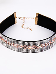 Europe And The United States Are Hot Drill Neck Chain Fashionable Contracted High-Grade Cervical Chain