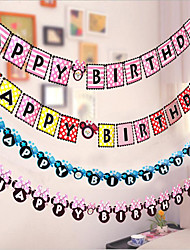 Birthday Birthday Party Card Paper Wedding Decorations Elegant Style