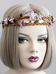 Недорогие -лес серия цветок бабочка волосы группа голова украшение элегантный стиль