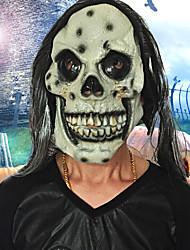 Halloween faccia piena faccia orrore maschera mascherata maschera costume partito in movimento tema ha visto maschera viso cappuccio