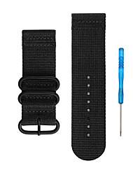 Недорогие -Ремешок для часов для Fenix 5x / Fenix 3 Garmin Спортивный ремешок Нейлон Повязка на запястье