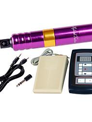 Elektrisch Make-Up Maschine Set Aluminium-Legierung Augenbrauen Lippen Eyeliner/Lidstrich 7-12V DC Stromspannung