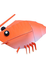 cheap -Halloween Masks Paper Model Toys DIY Square Lobster 3D Horror Classic Pieces Not Specified Gift
