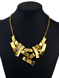 cheap -Women's Pendant Necklace / Statement Necklace  -  Personalized, Fashion Gold Necklace For Business, Daily, Evening Party
