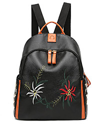 Women Bags All Seasons Canvas Backpack for Casual Black