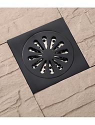 abordables -Accessoire de robinet - Qualité supérieure - Moderne Laiton Drain de plancher - terminer - Bronze Huilé