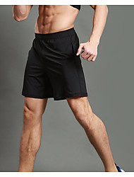 WOSAWE Men's Running Shorts Running Split Shorts Fitness, Running & Yoga Quick Dry Breathable Shorts Bottoms Exercise & Fitness Back