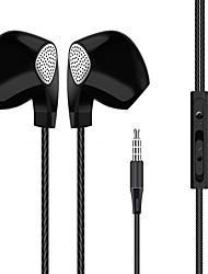 Le cuffie del trasduttore auricolari del telefono delle cellule dell'orecchio hanno la funzione di controllo del legare