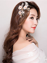 cheap -Crystal Hair Combs Hair Stick 1 Wedding Special Occasion Birthday Party / Evening Casual Headpiece