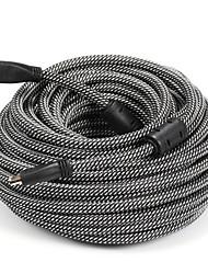 HDMI 1.4 Câble, HDMI 1.4 to HDMI 1.4 Câble Male - Male 20.0m (60ft)