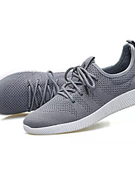 Da uomo scarpe da ginnastica Corsa Comoda Tulle Primavera Autunno Piatto Nero Blu scuro Grigio Meno di 2,5 cm