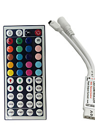 cheap -Mini 24 keys RGB IR Remote Controller for 3528 or 5050 RGB LED Strips Small RGB Controller Free Shipping