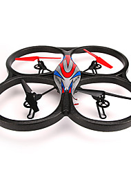 cheap -RC Drone WL Toys V656 4CH 6 Axis 2.4G With Camera RC Quadcopter FPV LED Lighting Failsafe With Camera RC Quadcopter Remote