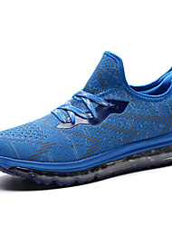 Running Shoes Men's Athletic Shoes With Air Cushions Comfort Light Soles Tulle Spring Summer Outdoor Flat Heel