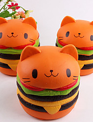 Artificial Hamburgers Foam Decor Fake Fruits Slow Rebound Toys Simulation Fruit Hamburgers Model