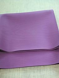 preiswerte -Synthetische faser Natürliches Gummi Yoga-Matten Rutschfest Mittel mm