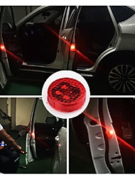 1PCS Car LED Light Door Logo Anti Collision Warning Magnetic Flashing Strobe Lights Signal Lamps for Cars Bulbs Lamp Auto Accessories