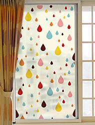 preiswerte -Art Deco Fenster-Aufkleber,PVC/Vinyl Stoff Fensterdekoration
