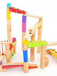 cheap -Marble Track Set Toys 3D Wood High Quality 1 Pieces Children's Christmas Children's Day Gift